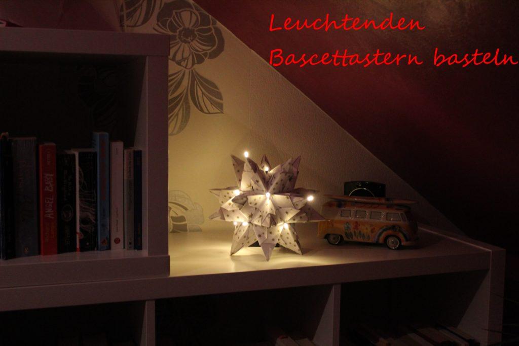 Leuchtender Bascettastern