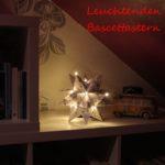 [DIY] Leuchtender Bascettastern