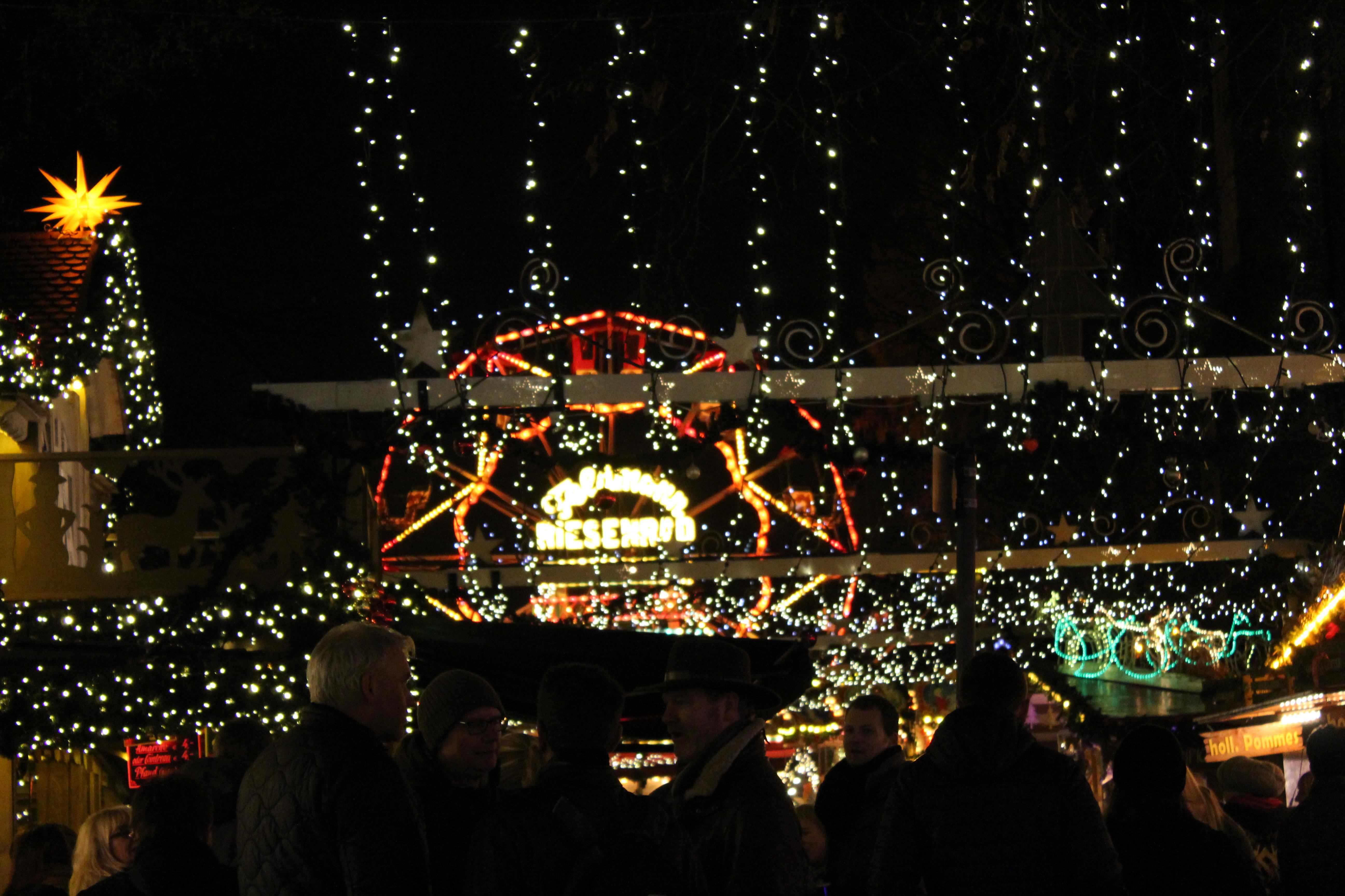 Bielefelder Weihnachtsmarkt.Weihnachtsmarkt Bielefeld Sinnessuche