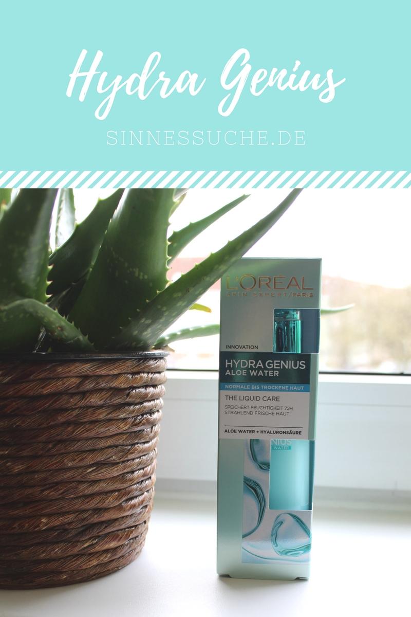 Feuchtigkeitspflege im Test: der Hydra Genius von L'Oréal