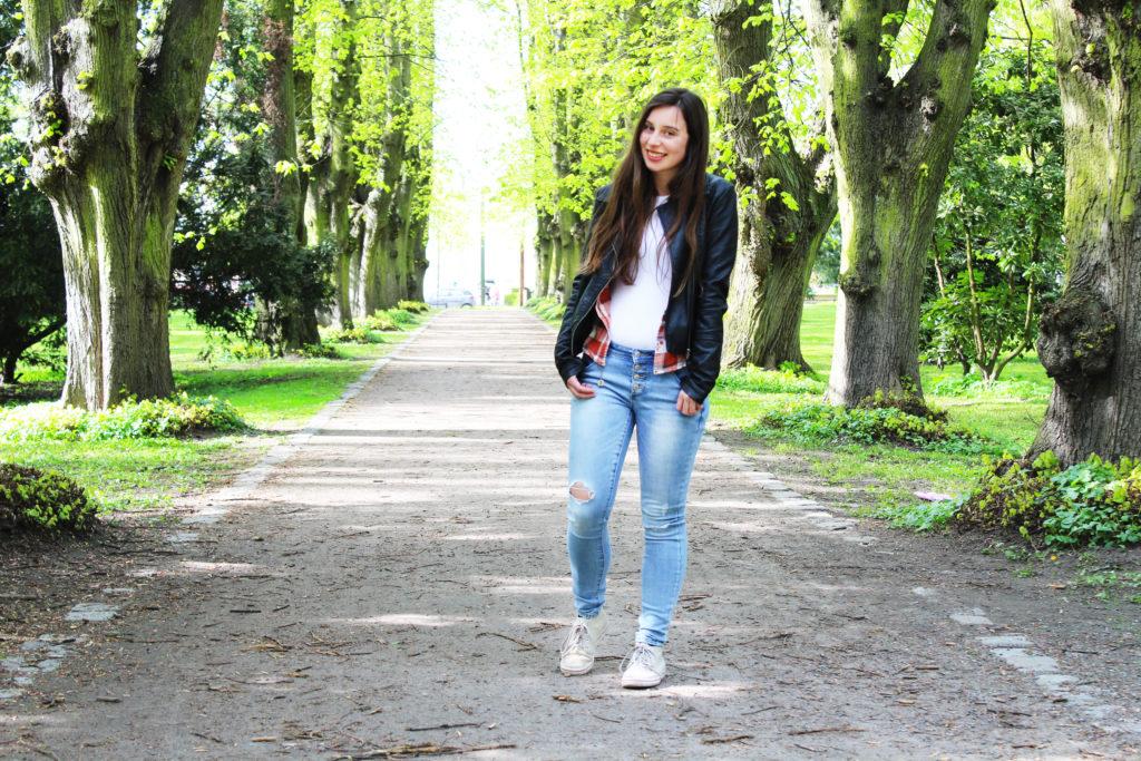 Casual unterwegs als Fashionblogger