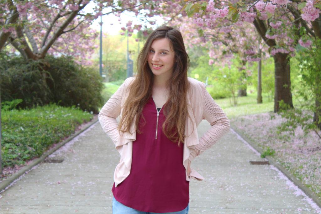 Mädchenhaftes Frühlingsoutfit