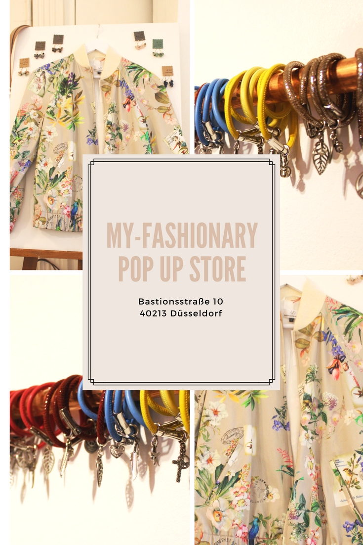 My-Fashionary Pop Up Store