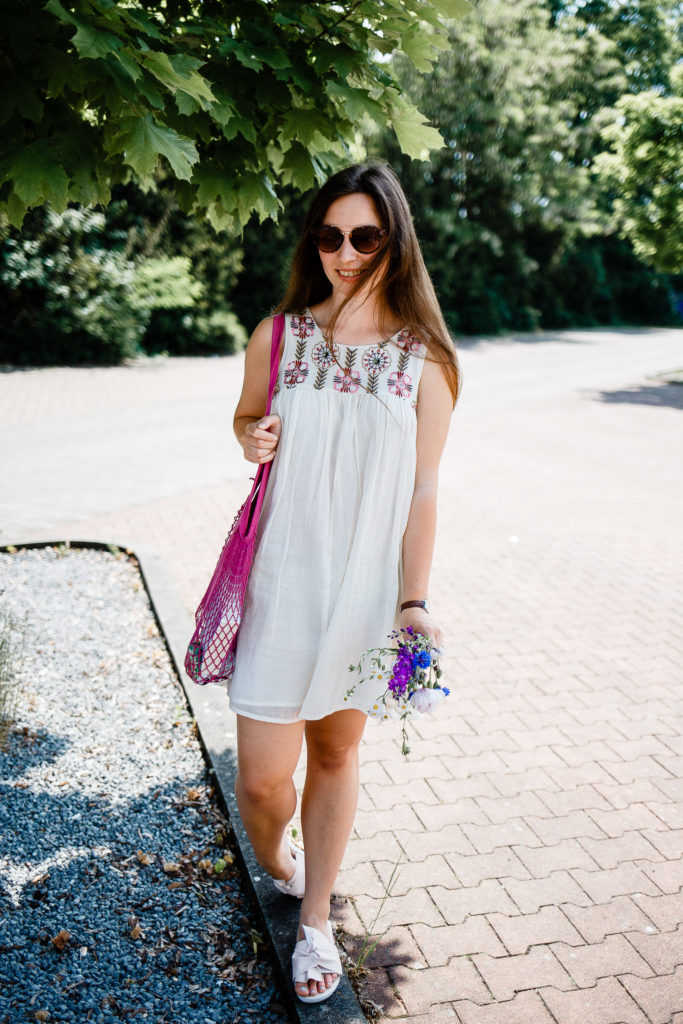 verspielter Sommerlook