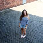 [Outfit] die Karo Bluse, mein Lieblingsteil für den Sommer