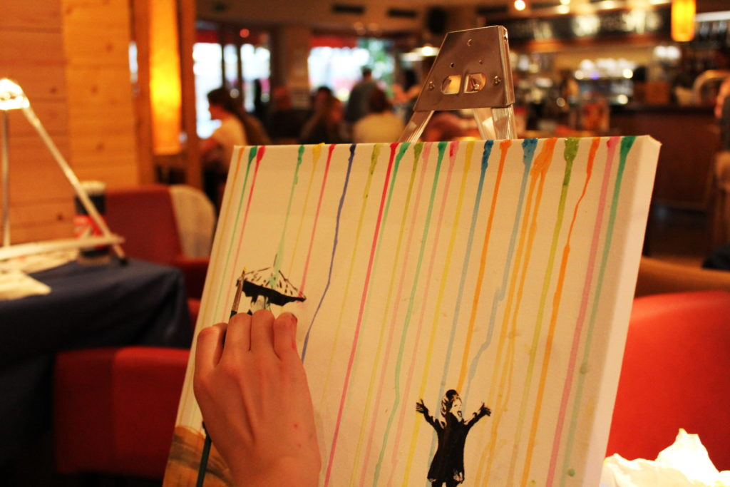 ArtNight Paint like Banksy