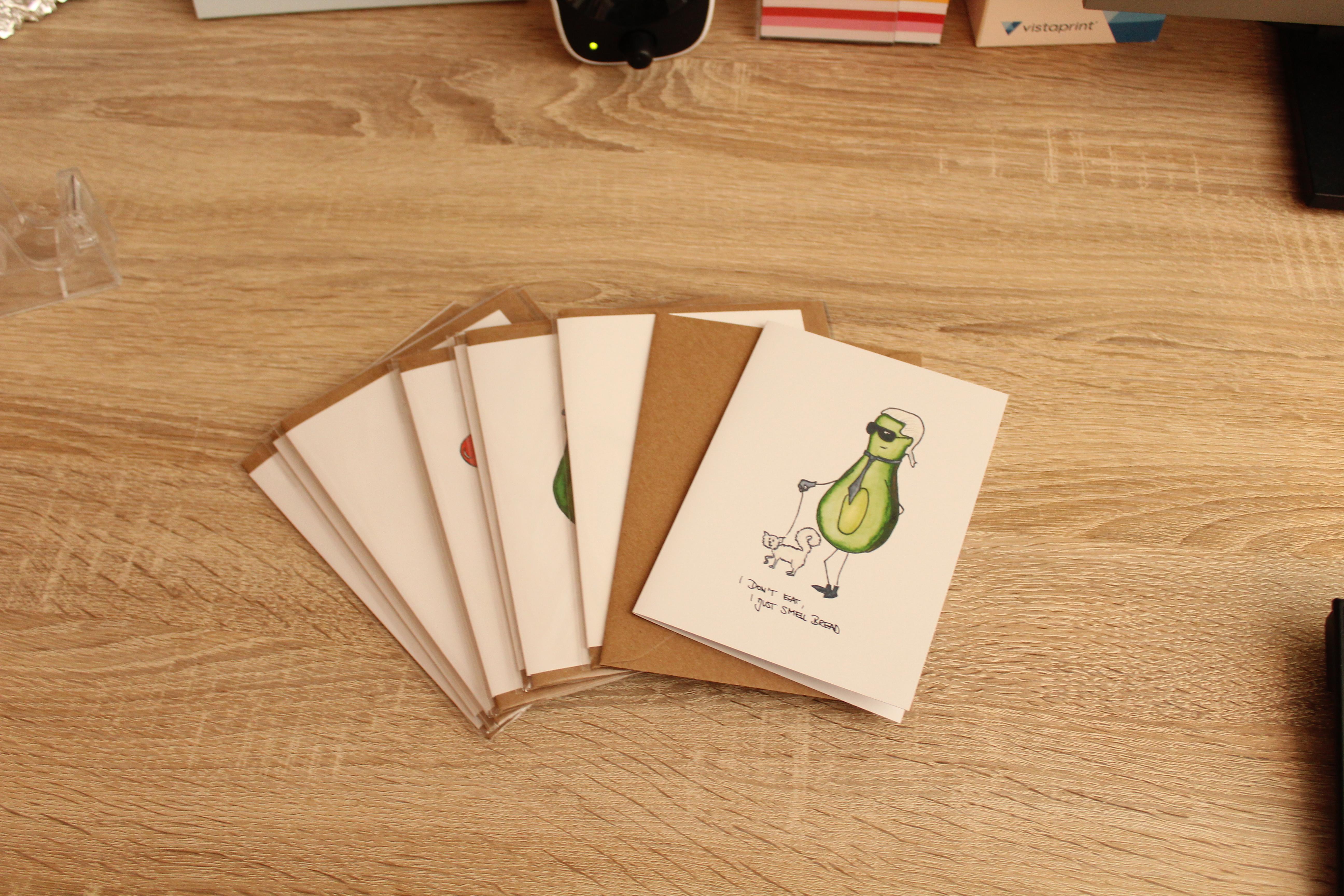 Avocado Postkarten