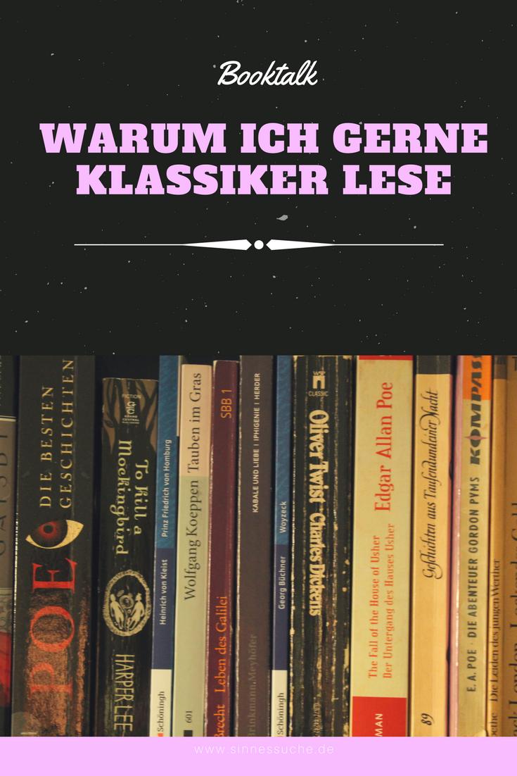 Warum ich gerne Klassiker lese