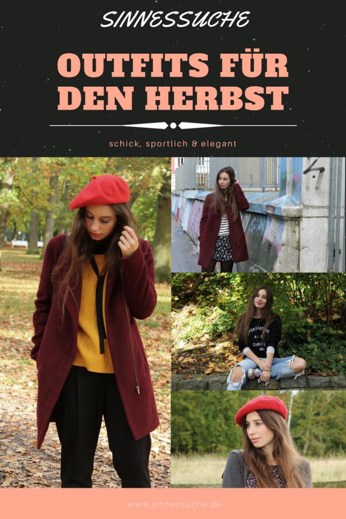 Outfits für den Herbst