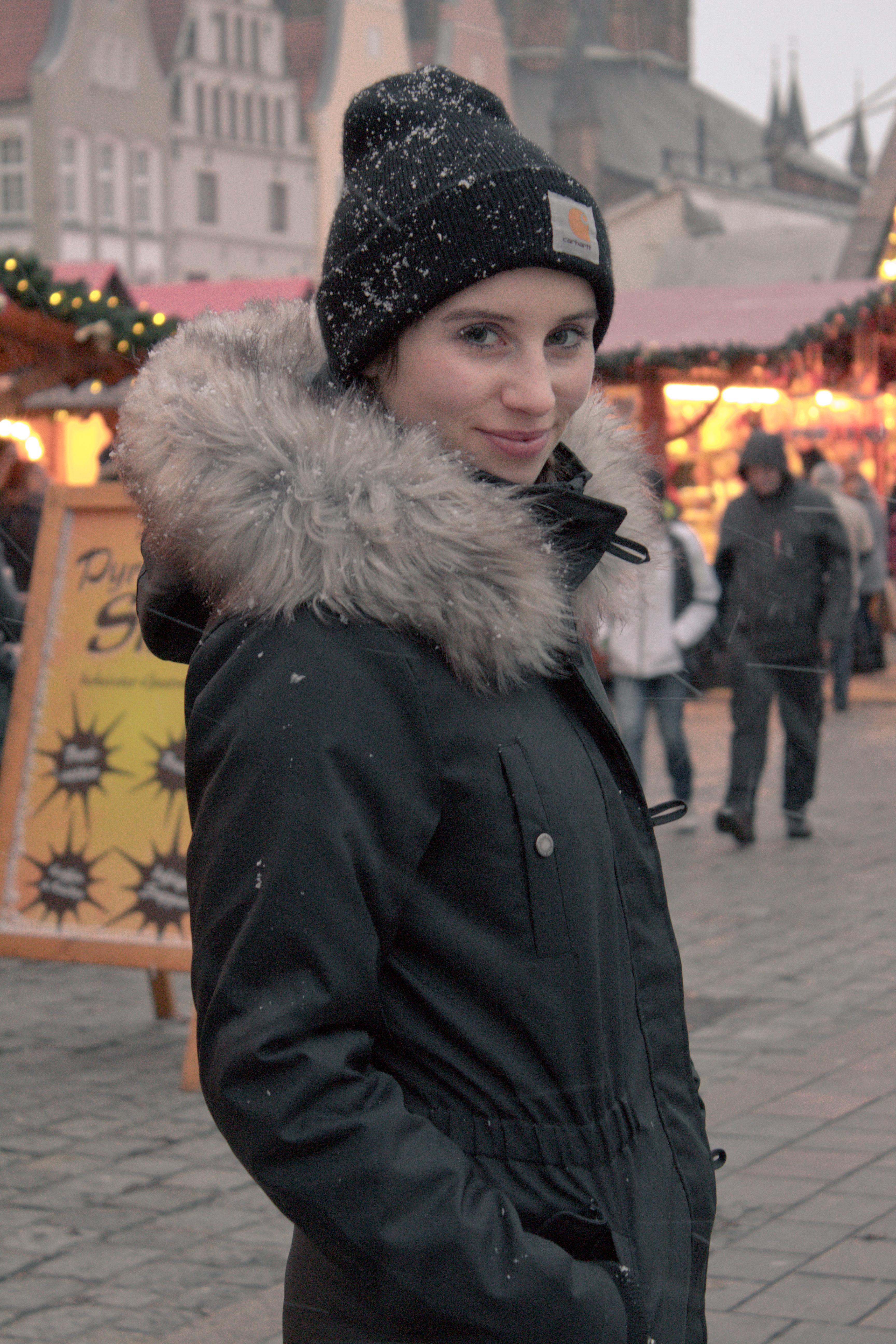 Der perfekte Look für den Weihnachtsmarkt