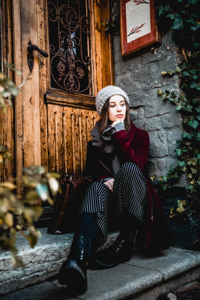 Culotte im Winter tragen