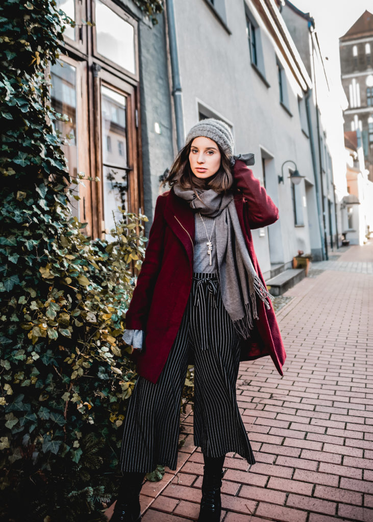 Be festive! Culotte im Winter tragen