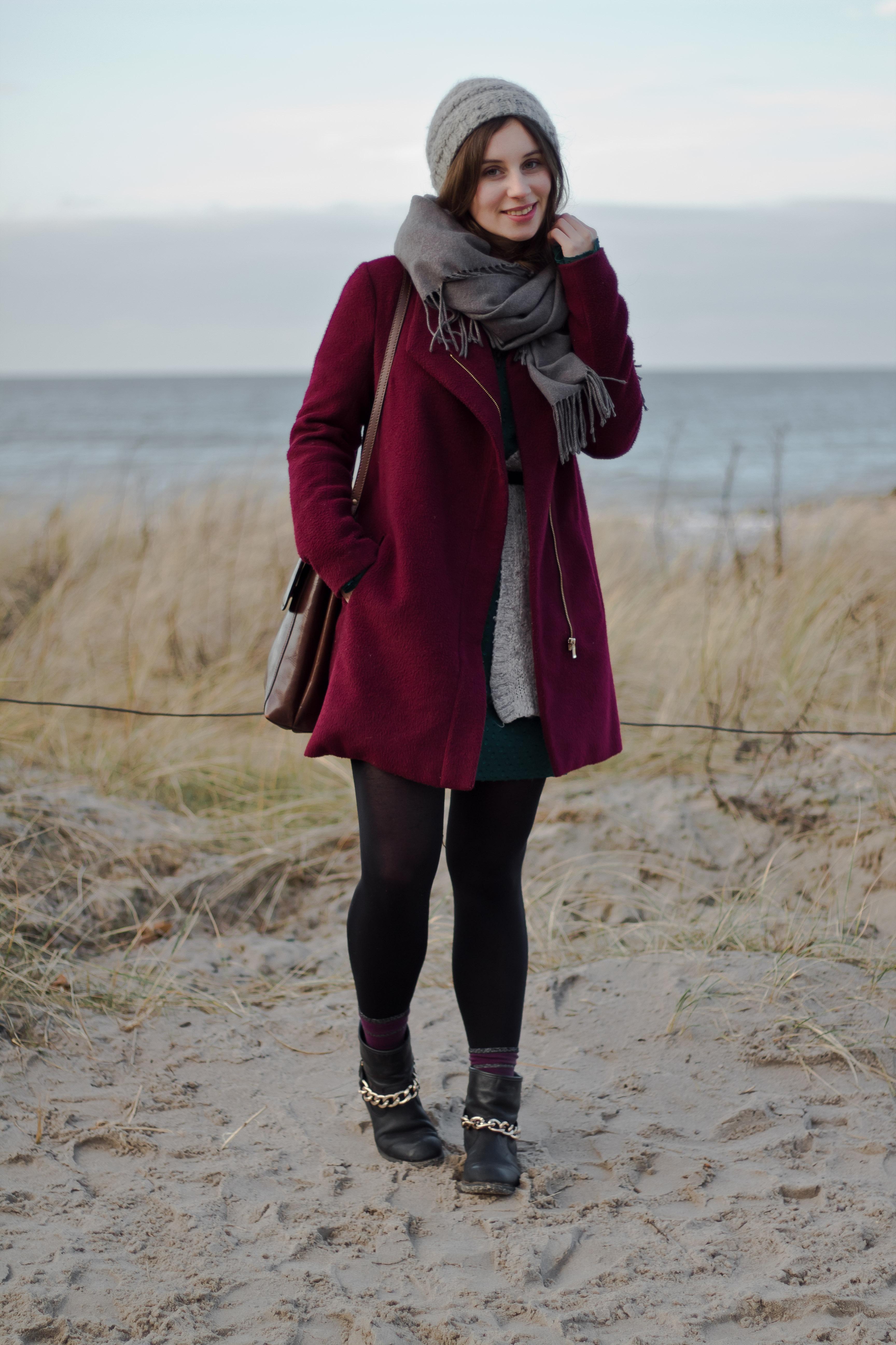 Neujahrsspaziergang am Strand