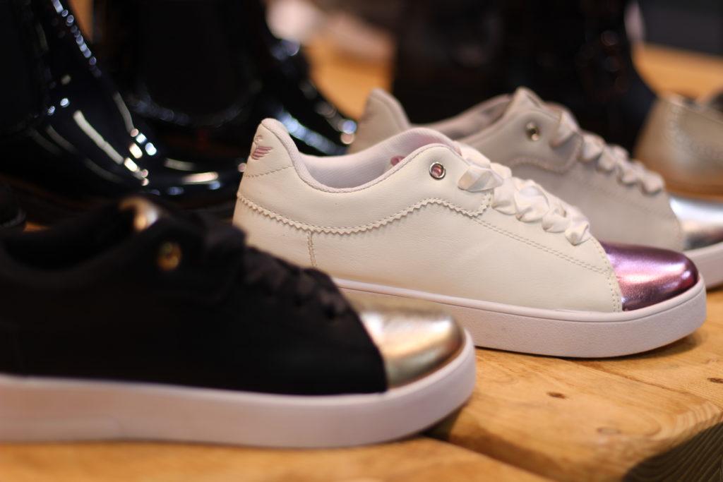 Sneaker auf der Fashionweek Berlin