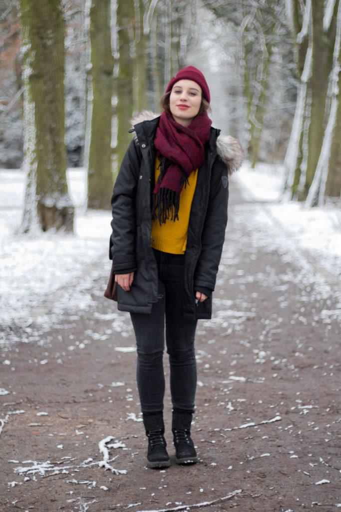 Stylish durch den Winter, auch bei Schnee!