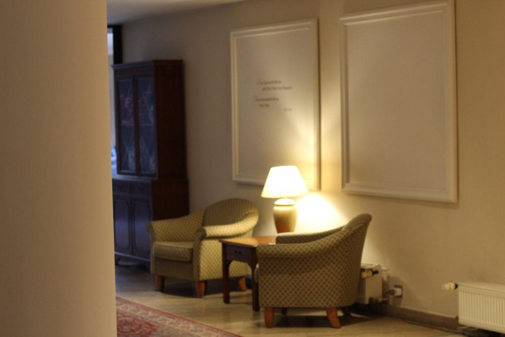 Die Einrichtung im Cliff Hotel Rügen
