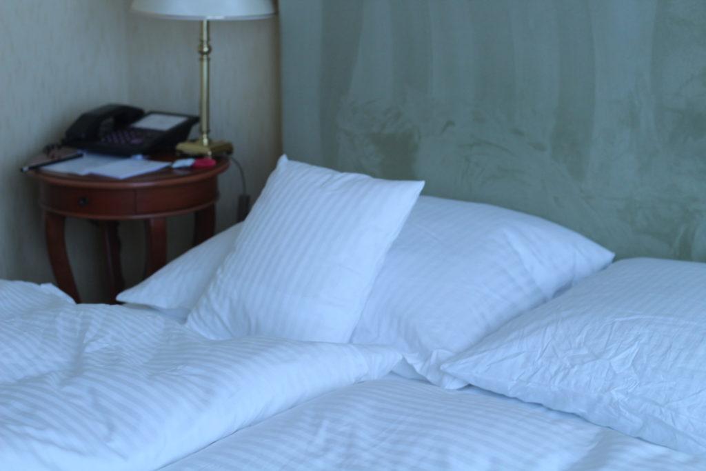 Unser Zimmer im Cliff Hotel Rügen