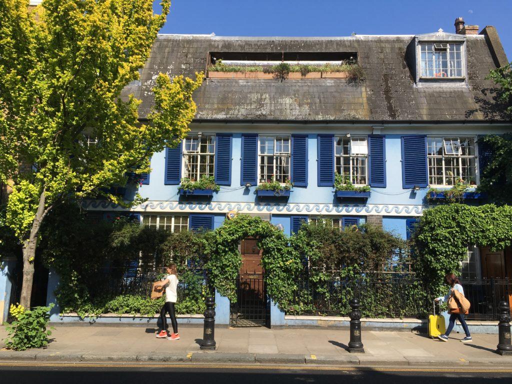 Die Portobello Road in London