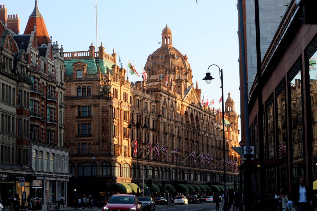 Sehenswürdigkeiten in London: The Harrods