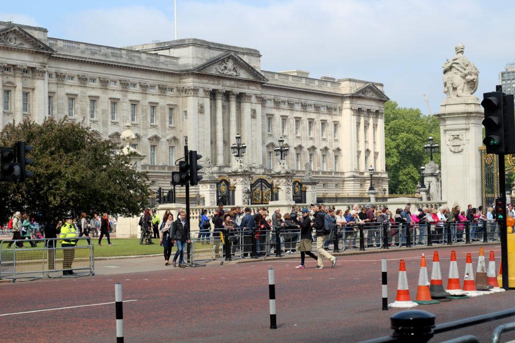 Sehenswürdigkeiten in London: Buckingham Palace