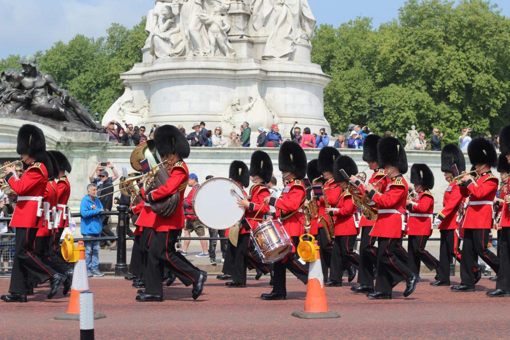 Der Wachwechsel vor dem Buckingham Palace