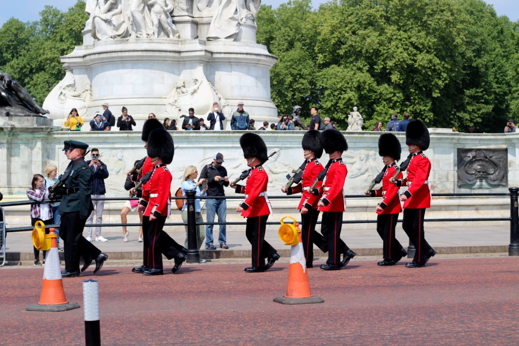 Wachwechsel vor dem Buckingham Palace
