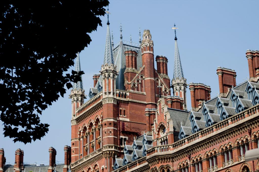 Sehenswürdigkeiten in London: St. Pancrass