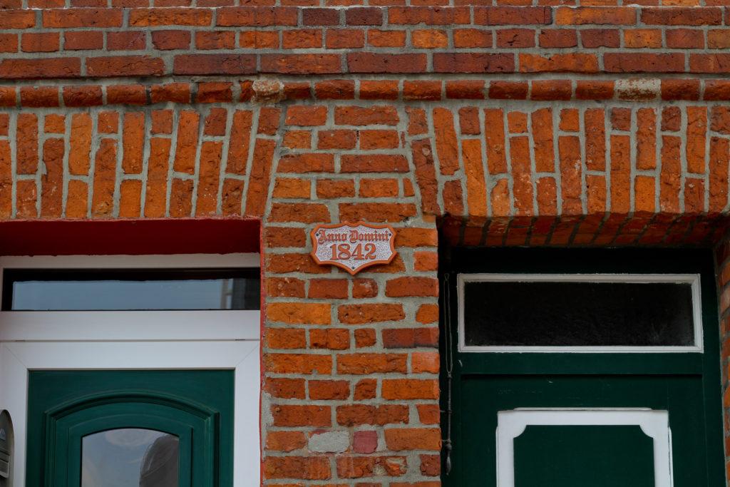 Wunderschöne alte Häuser in Travemünde