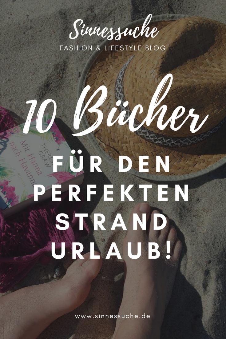 10 Bücher für den perfekten Strandurlaub im Sommer