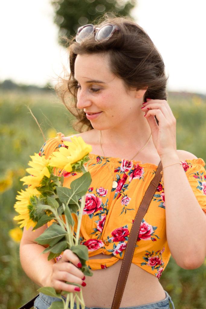 Sonnenblumenliebe