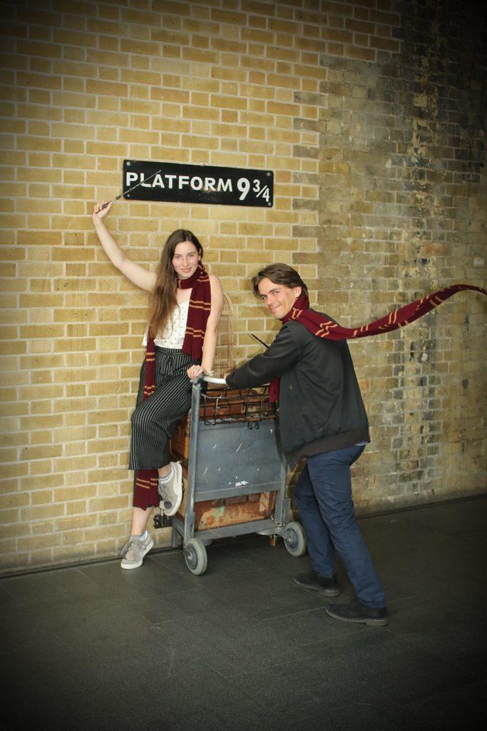 Platform 9 3/4: ein Erlebnis für sich!