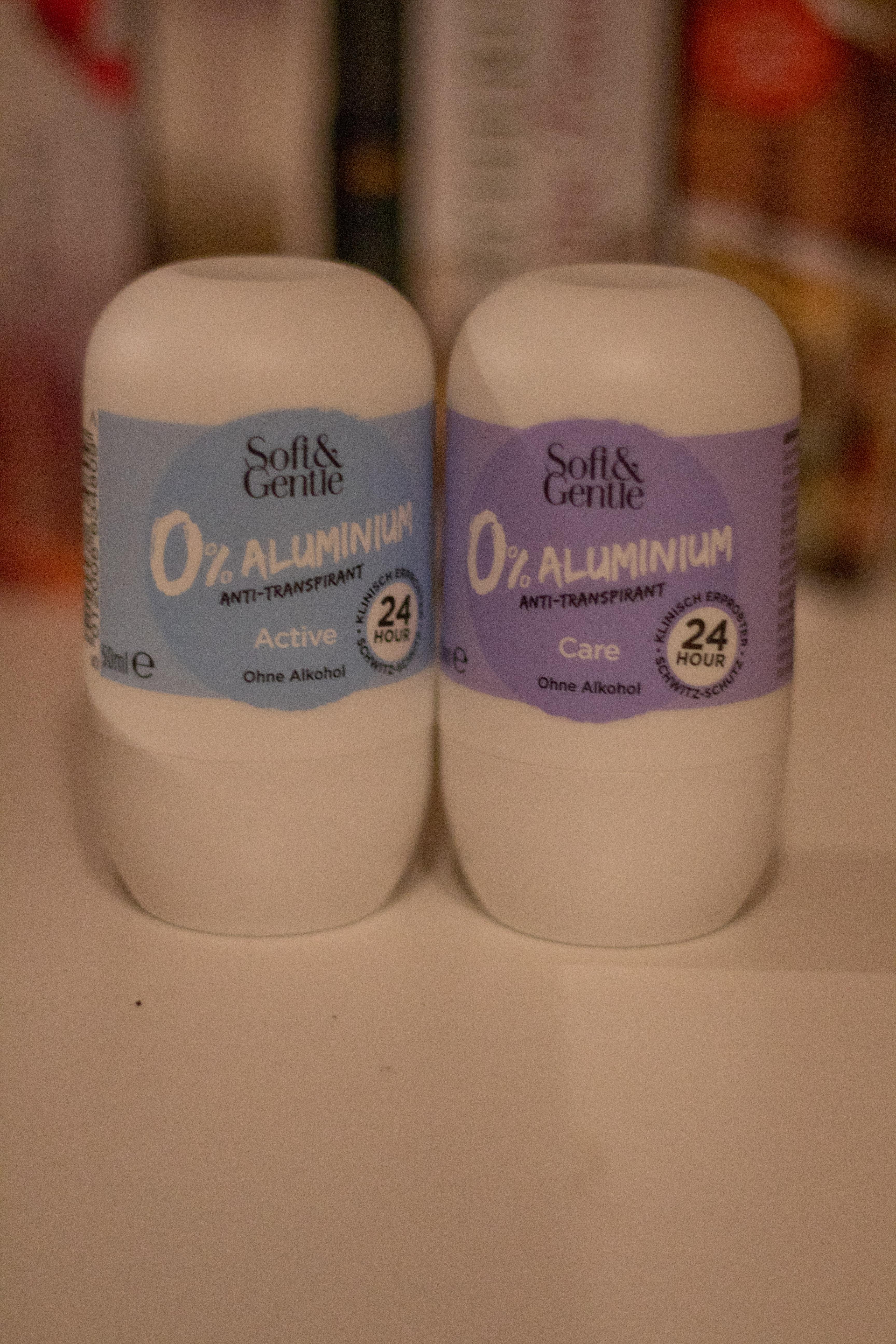 Soft & Gentle Anti-Transpirant ohne Aluminiumsalze