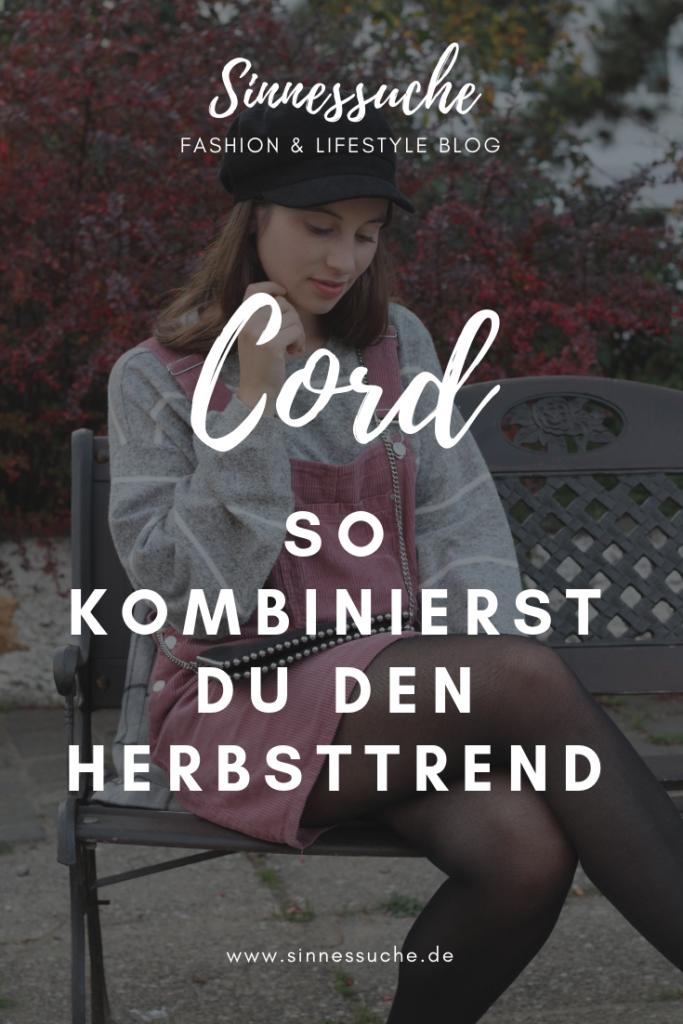 Cord - So kombinierst du den Herbsttrend!