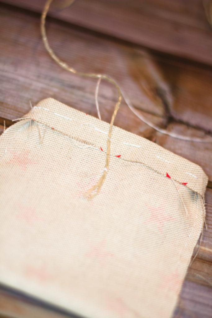 Säckchen nähen - Adventskalender selbst machen
