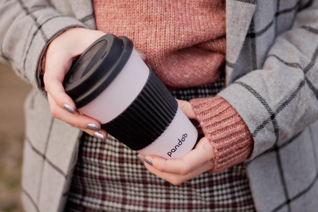 Coffee To Go Becher von Pandoo aus Bambus