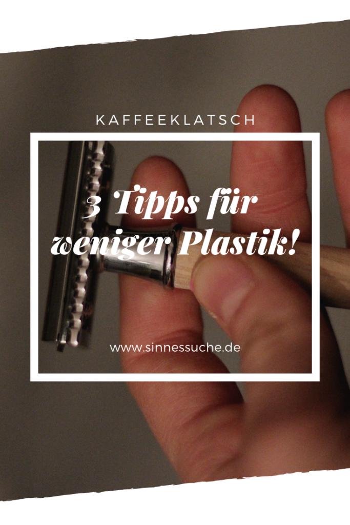 Tipps für weniger Plastikmüll