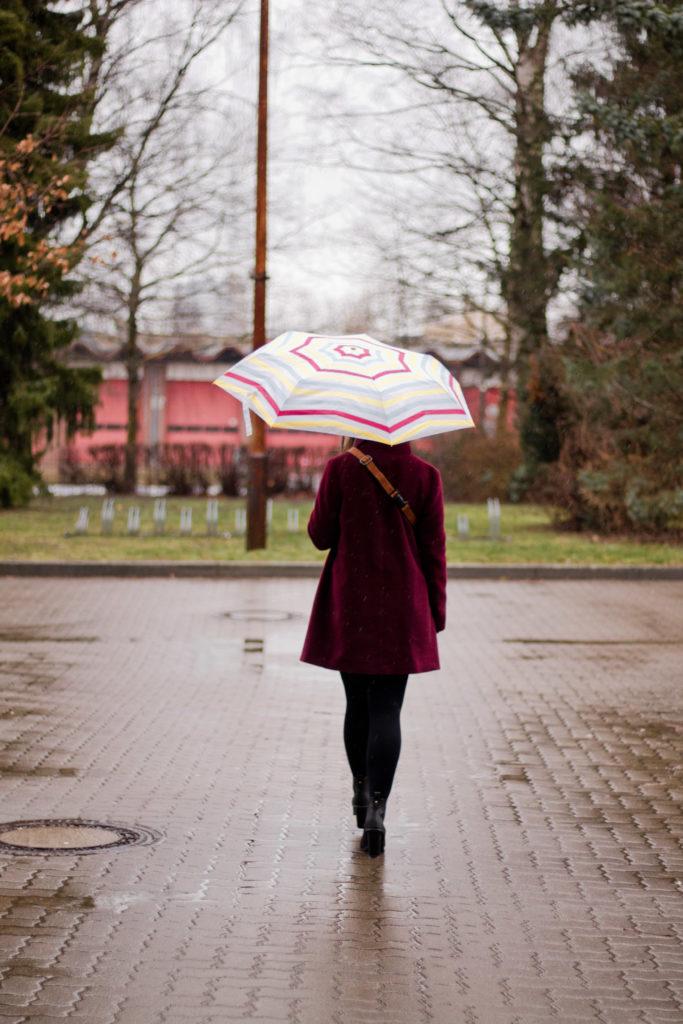 Regenwetter: mit diesem Look bist du gewappnet!