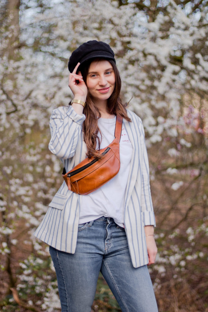 Frühlingsoutfit mit Blazer