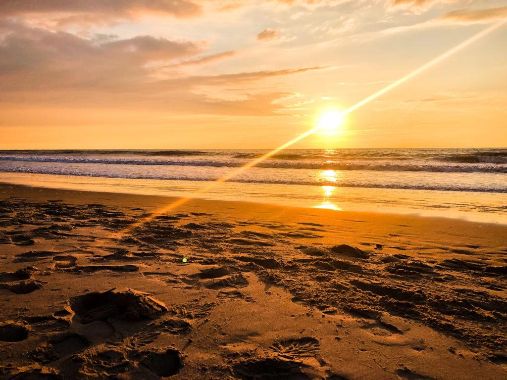 Sonnenuntergang in De Haan
