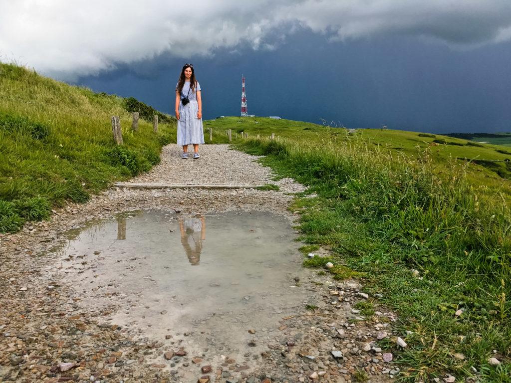 Wanderweg auf das Cap Blanc Nez