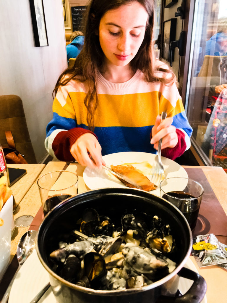 Moules frites in Le Touquet Paris Plage