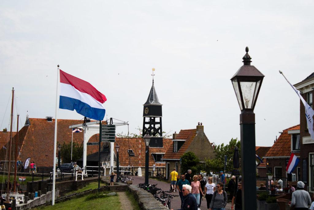 Der Hafen von Hindeloopen