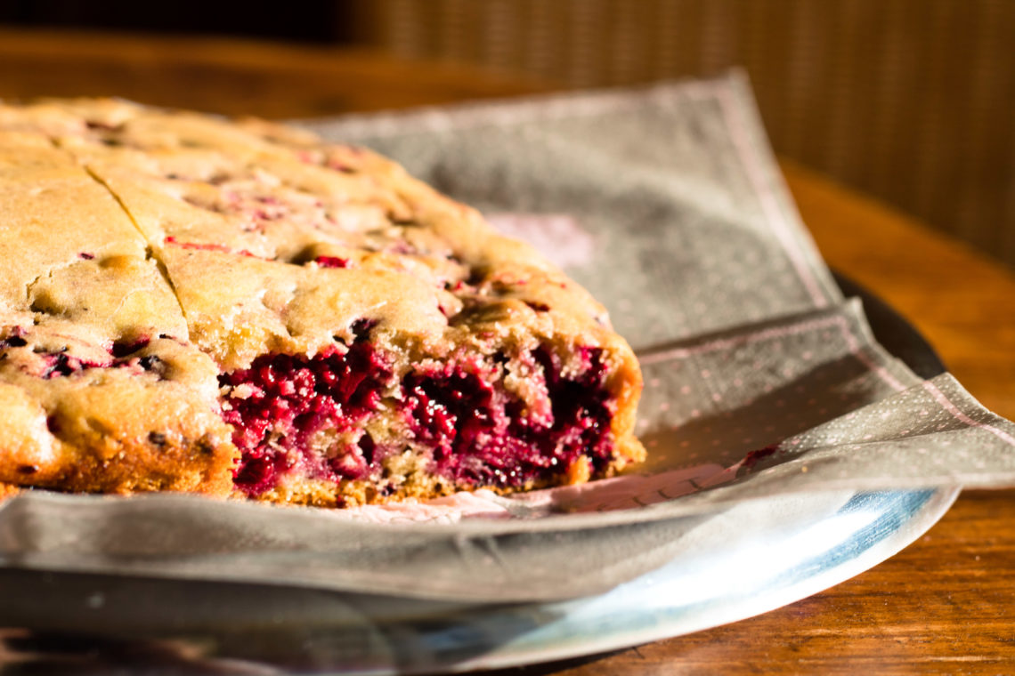 Brombeer Kuchen