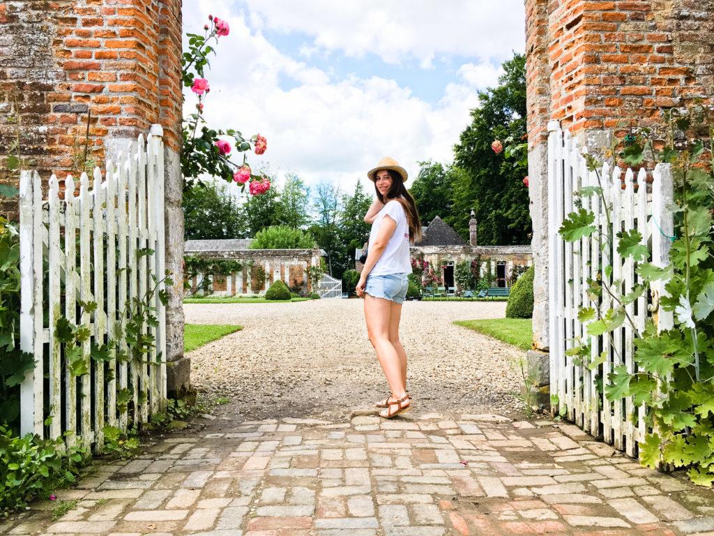 Der Garten des Chateau de Miromesnil