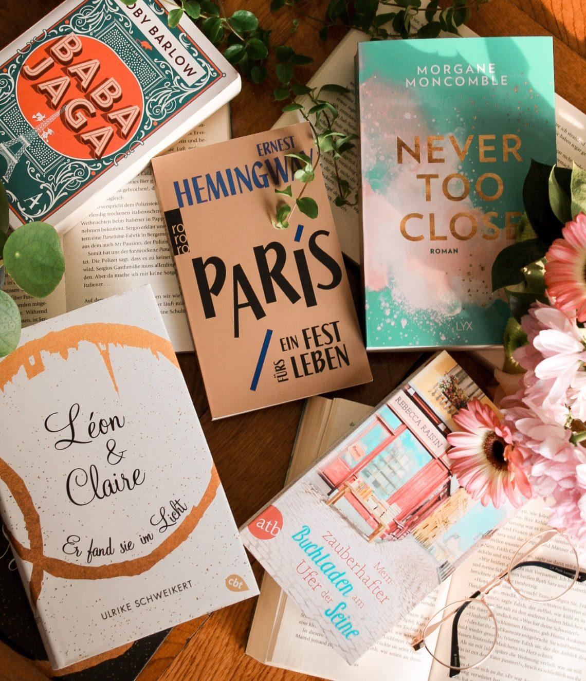 Paris Literatur: vom Sofa nach Paris