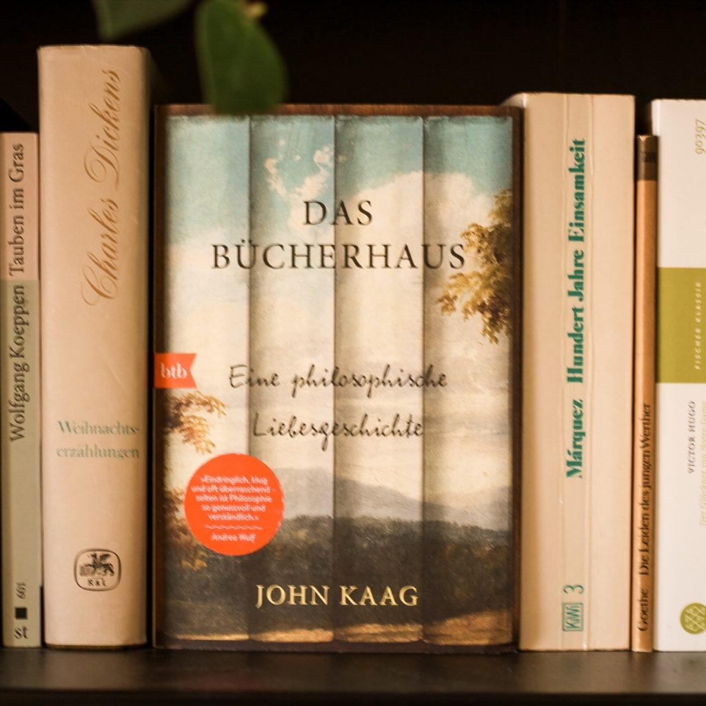 Das Bücherhaus, John Kaag