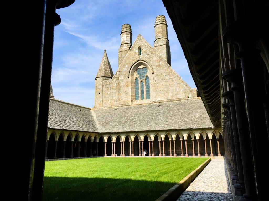 Kloster auf dem Mont-Saint-Michel