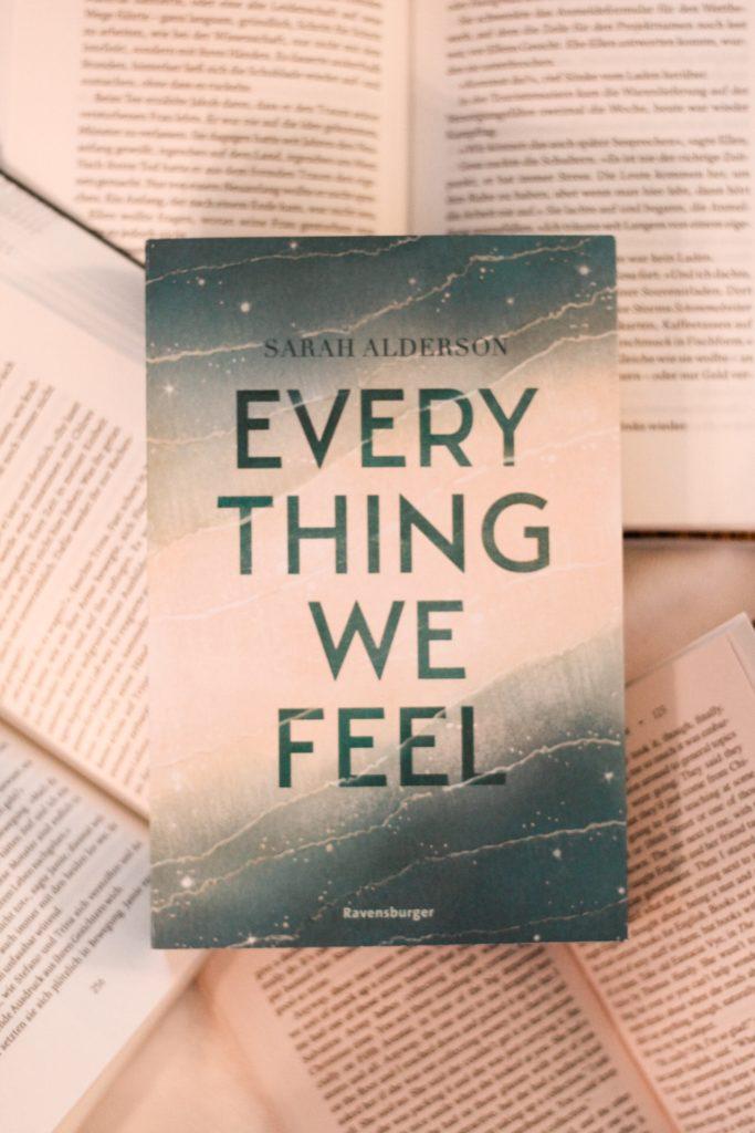 Everything we feel, Sarah Alderson